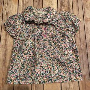 Jojo Maman bebe floral blouse